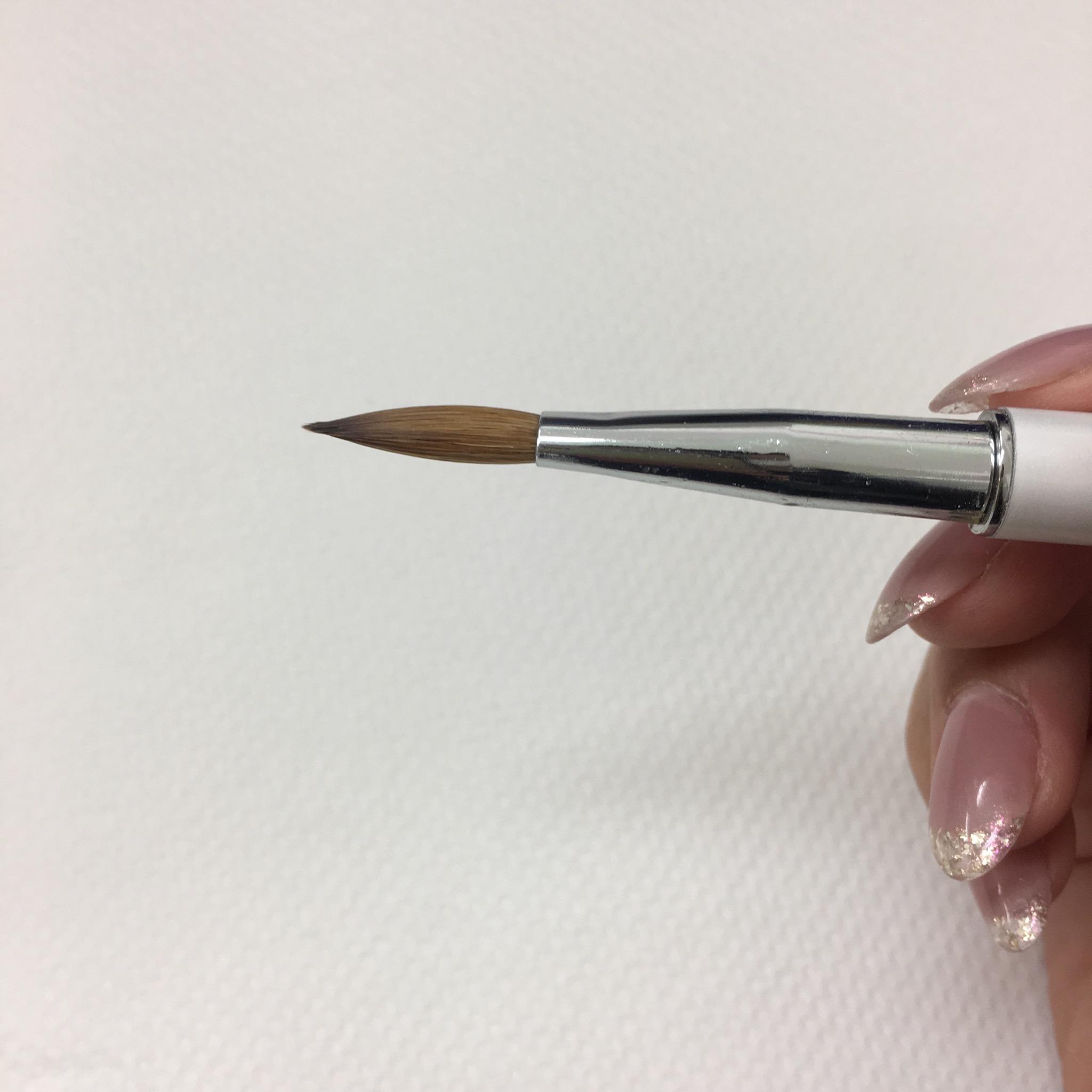 スカルプで使う筆
